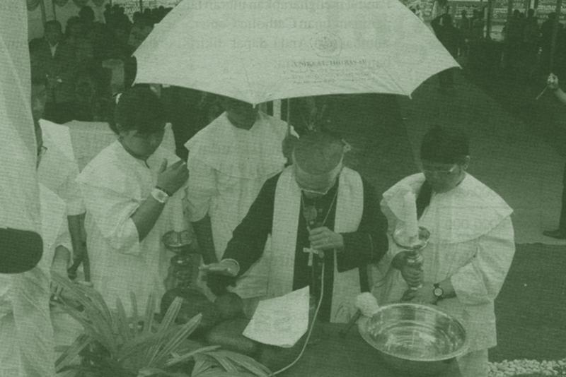dokumentasi-menjemaat-ed-september-2007-peletakan-batu-pertama-catholic-center-kam-dipimpin-mgr-agp-datubara-ofmcap