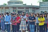 Doa bersama dalam Upacara Dirgahayu RI ke-72 di Graha Maria Annai Velangkanni (Copyright: Jeffry Siallagan)