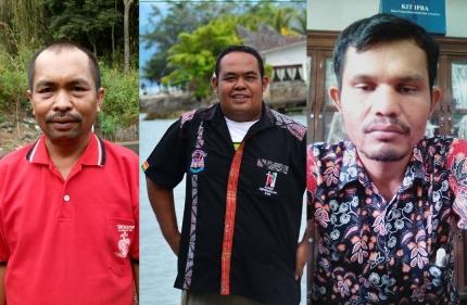 (ki-ka): Kosman Manik, Fernando Tarigan, Yupen Pandiangan