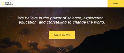 Cuplikan tagline National Geographic