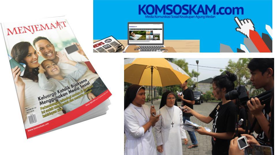 Karya Komsos KAM - Menjemaat Komsoskamdotcom dan Training